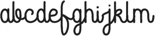 Rustic Gate ttf (400) Font LOWERCASE