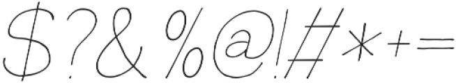 Rustica otf (100) Font OTHER CHARS