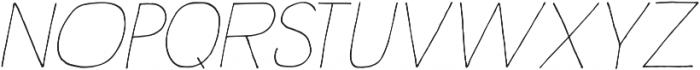Rustica otf (100) Font UPPERCASE