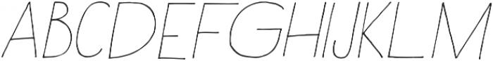 Rustica otf (100) Font LOWERCASE
