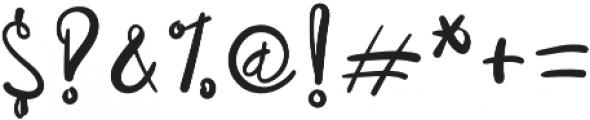 RusticalBold Regular otf (700) Font OTHER CHARS