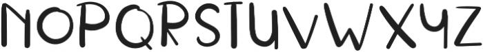 RusticalBold Regular otf (700) Font LOWERCASE