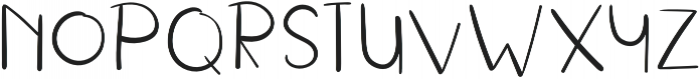 RusticalThin Regular otf (100) Font UPPERCASE