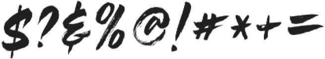 Rustix ttf (400) Font OTHER CHARS