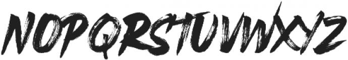 Rustix ttf (400) Font UPPERCASE