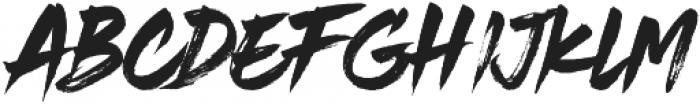 Rustix ttf (400) Font LOWERCASE