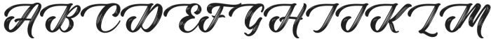 Rustling Trees otf (400) Font UPPERCASE