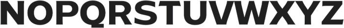 Ruston Basic SemiBold otf (600) Font UPPERCASE