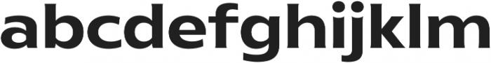 Ruston Basic SemiBold otf (600) Font LOWERCASE