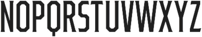 Ruston College Regular Extra Condensed otf (400) Font UPPERCASE