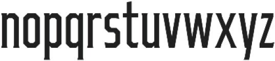 Ruston College Regular Extra Condensed otf (400) Font LOWERCASE