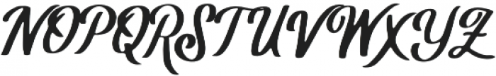 Rusty The Buttcher otf (400) Font UPPERCASE
