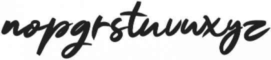 Ruthen Back otf (400) Font LOWERCASE