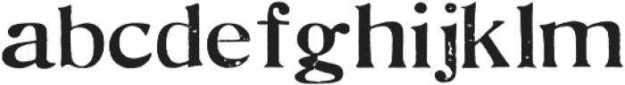 Ruthie Regular otf (400) Font LOWERCASE