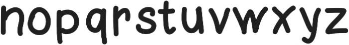 rukopis ttf (400) Font LOWERCASE