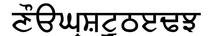 RUBYSARP Font UPPERCASE