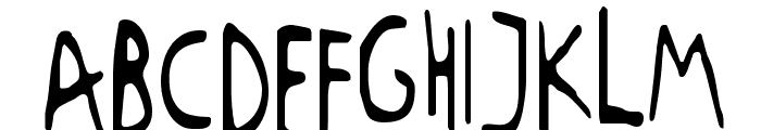 RUGRATS Font LOWERCASE
