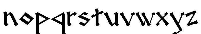 RUNEnglish 2 Font LOWERCASE