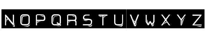Ruban Dismoi Tryout Font LOWERCASE