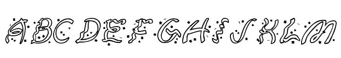 Ruban Extravaganza Font LOWERCASE
