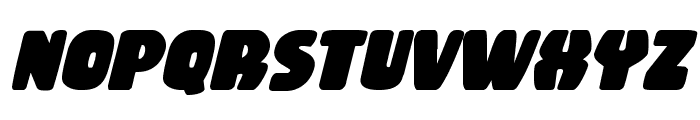 Rubber Boy Bold Italic Font LOWERCASE