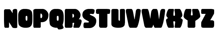Rubber Boy Bold Font LOWERCASE