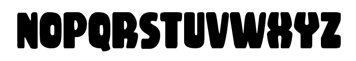 Rubber Boy Condensed Font LOWERCASE