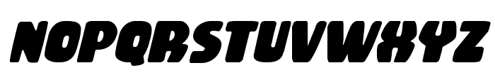 Rubber Boy Italic Font LOWERCASE