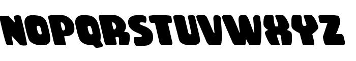 Rubber Boy Leftalic Font LOWERCASE