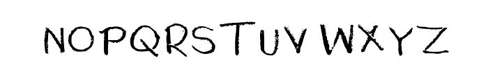 Rubber Duckies Medium Font UPPERCASE