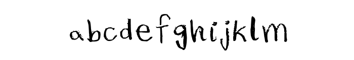 Rubber Duckies Medium Font LOWERCASE