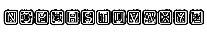 Rubber Hell Font UPPERCASE