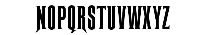 RubensOpti-ExtraCondModified Font UPPERCASE