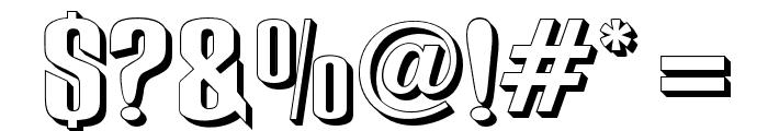 RubensPerspective Font OTHER CHARS