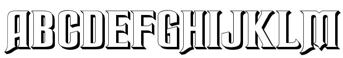 RubensPerspective Font UPPERCASE
