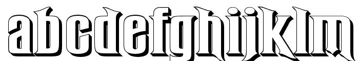 RubensPerspective Font LOWERCASE