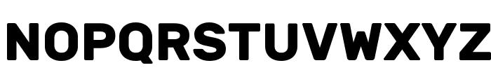 Rubik Bold Font UPPERCASE
