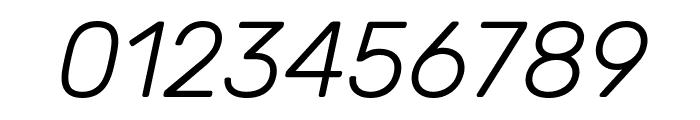 Rubik Light Italic Font OTHER CHARS