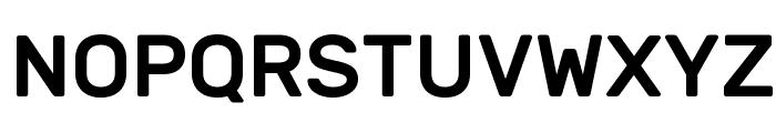 Rubik Medium Font UPPERCASE
