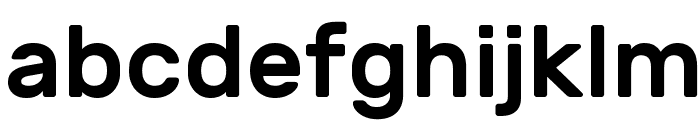 Rubik Medium Font LOWERCASE