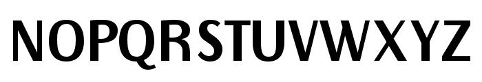 Rubik Font UPPERCASE