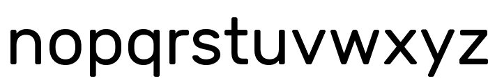 Rubik Font LOWERCASE