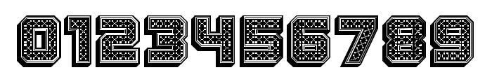 Rubles 3D Regular Font OTHER CHARS