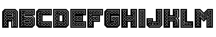 Rubles Bold Font LOWERCASE