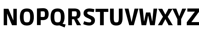 Ruda Black Font UPPERCASE