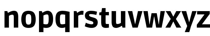 Ruda Black Font LOWERCASE