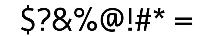 Ruda Regular Font OTHER CHARS