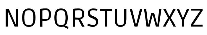 Ruda Regular Font UPPERCASE