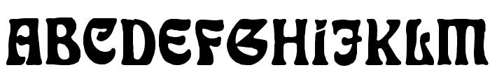 Rudelsberg-Initialen Font LOWERCASE