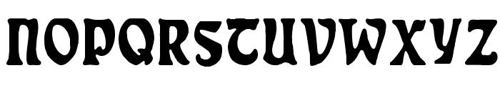 Rudelsberg-Plakatschrift Font UPPERCASE